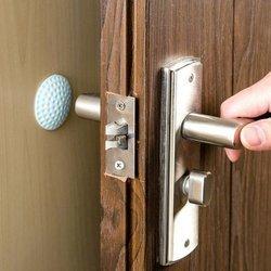 Odbojnik samoprzylepny na ścianę - Ochraniacz ściany od klamki - Stoper do drzwi
