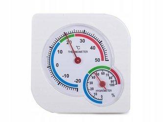 Termometr Higrometr pokojowy - analogowy - pomiar temperatury wilgotności