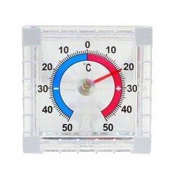 Termometr zaokienny samoprzylepny -50C +50C - zewnętrzny miernik temperatur
