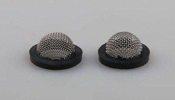 Uszczelka gumowa z filtrem wypukłym 19mm - Filtr do węża pralki - prysznica