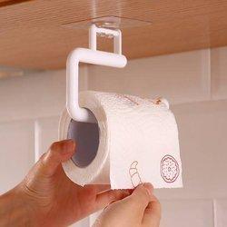 Wieszak na papier toaletowy - szary mały - uchwyt na ręcznik
