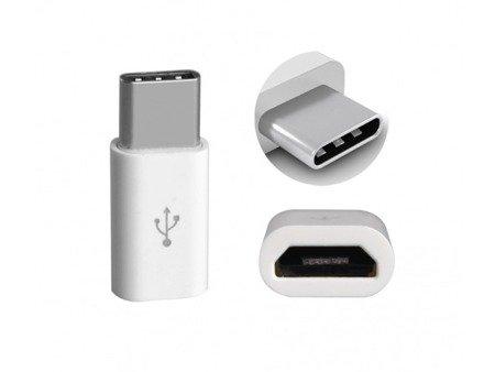 Adapter - Przejściówka - MicroUSB - USB-C 3.1 TYP C