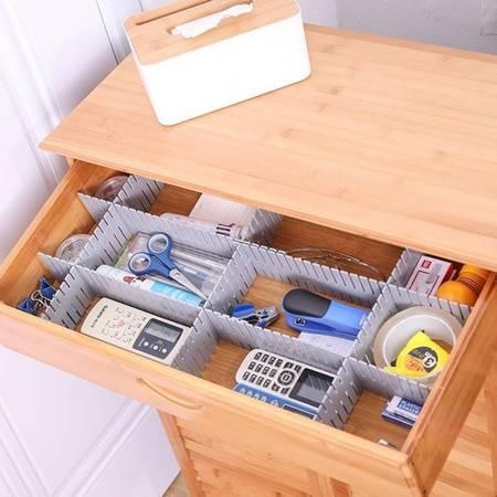 Przegródki do szuflady 47x7cm - Organizer do szafy - 4 szt