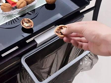 Uchwyt wiszący na worki do śmieci - Chwytak do worków na szafkę
