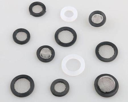 Uszczelka silikonowa płaska 24mm - 5szt - do węża pralki - prysznica - kranu