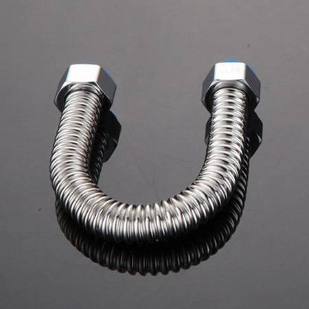 Wąż do wody ze stali nierdzewnej 201 - 30cm - 1/2 Cala - rura karbowana